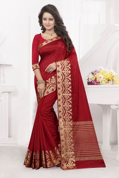 http://www.thatsend.com/shopping/lp/fvp/TESG240284/i/TE312826/iu/maroon-silk-casual-saree  Maroon Silk Casual Saree Apparel Pattern Printed. Work Print. Blouse Piece Yes. Occasion Festive, Sangeet. Top Color Maroon.