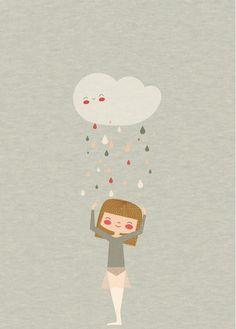 Affiche Illustration Danse - Affiche pour Fille - Danseuse dApanona