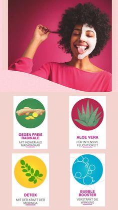 Aloe Vera, Detox Maske, Aloe On Face, Fashion Beauty, Bubbles, Schaum, Magic, Fashion Trends, Make A Donation