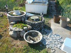 садовые кашпо из щебенки, мастер класс, клумбы для цветов, садовая ваза для цветов из щебенки, своими руками, обустройство приусадебного участка, мк, кашпо для сада, кашпо для цветов, идеи для сада, дачи