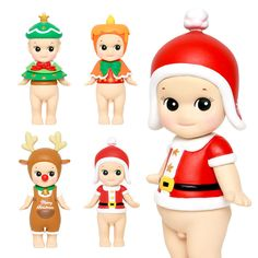 Sonny Angels Christmas series 2015 Christmas Angels, Christmas Time, Sonny Angel, Christmas Decorations, Dolls, Baby Dolls, Puppet, Doll, Baby