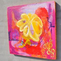 Blomst af Dorthe Gram fra www.kunstid.dk
