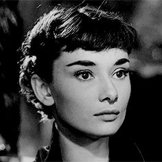 """""""My agent told me a movie was going to be made called Roman Holiday. They wanted an unknown, and they were going to test a great many girls. To get the test, I had to meet a man named William Wyler. Classic Hollywood, Old Hollywood, Bette Davis, Audrey Hepburn Photos, William Wyler, Beautiful Lips, Beautiful People, Beautiful Women, Roman Holiday"""