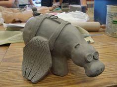 Double Pinch-Pot Animals II   East Chapel Hill High Ceramics