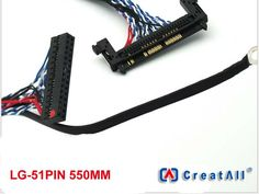 $26.85 (Buy here: https://alitems.com/g/1e8d114494ebda23ff8b16525dc3e8/?i=5&ulp=https%3A%2F%2Fwww.aliexpress.com%2Fitem%2F10pcs-x-51Pin-LCD-LVDS-Cable-HD-Large-Size-TV-Monitor-Controller-Borad-Cable-550mm-for%2F32708381660.html ) 10pcs x 51Pin LCD LVDS Cable HD Large Size TV Monitor Controller Borad Cable 550mm for LG Panel for just $26.85