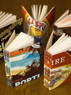 Custom Beer Box Books. $12.00, via Etsy.