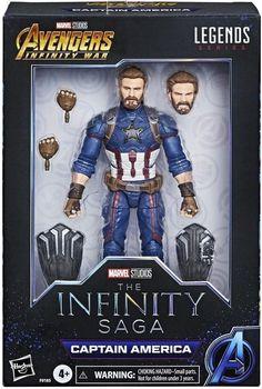Custom Action Figures, Marvel Legends, Infinity War, Disney Movies, Marvel Avengers, Saga, Captain America, Toys, Children