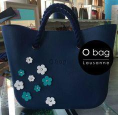 Cabas O Bag décoré de fleurettes