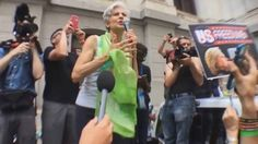 Jill Stein Gives Rousing Speech Before People's March