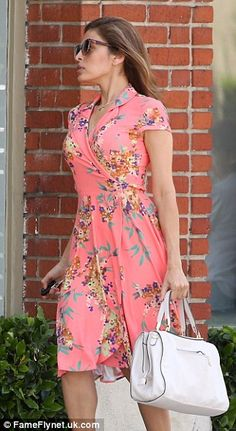 $90 New York & Co Eva Mendes collection Marina wrap dress. Love!!