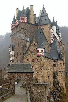 Burg Eltz Castle ~ between Koblenz and Trier