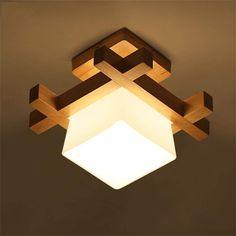 Modern Led Ceiling Lights, Ceiling Light Design, False Ceiling Design, Ceiling Decor, Ceiling Lamp, Wall Lights, Wood Desk Lamp, Wooden Lamp, Make A Lampshade