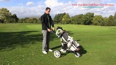 Golf Push Cart Reviews - Read and find the useful information about Best golf push carts and gadgets that will help you play the better and enjoy golfing!