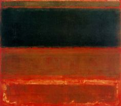 Four Darks in Red, by Mark Rothko.