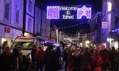 10 of the best small UK towns for winter breaks Christmas Breaks, Winter Christmas, Christmas Lights, Winter Breaks, South Devon, Modern Restaurant, Weekend Breaks, The Guardian, Day Trip