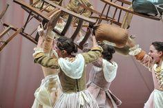 Le baruffe chiozzotte al Teatro Verdi dall'8 al 12 novembre 2017 e al Teatro Goldoni dal 16 al 19 novembre 2017.