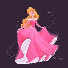 Old Disney, Disney Stuff, Disney Love, Disney Art, Disney Pixar, Disney Princess Drawings, Disney Drawings, Disney Princesses, Sleeping Beauty Art