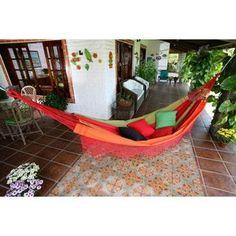 xl rustica stripe hand woven brazilian double hammock with fringe handmade cotton  u0027forro dance u0027 hammock  brazil  by novica   brazil      rh   pinterest