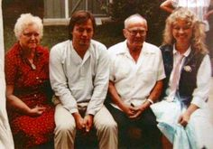 David, Ginger and her Grandparents