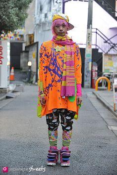 Harajuku street fashion | ;)