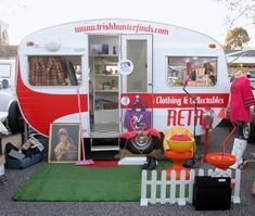 call me crazy, but the idea of owning and operating a food truck in a vintage looking trailer sounds pretty rad.