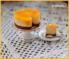 Cheesecake tutorial on Dollhouse Väinölä - polymer clay miniature tutorial