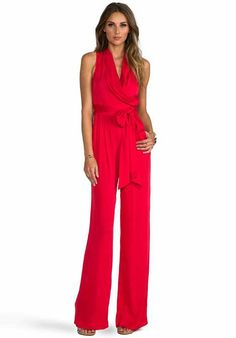 Amazon.com: KAMALIKULTURE Women's Sleeveless Tie Front Jumpsuit ...