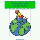 Have your children count and tally the globes!  Great for a map and globe unit while practicing tally marks!...