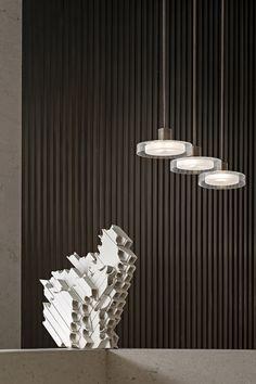 首发丨万科观湖, 隐逸都市的山水秘境!【环球设计2299期】 Booth Design, Wall Design, Open Office Design, Ceiling Lamp, Ceiling Lights, Pendant Lighting, Chandelier, Artistic Installation, Conceptual Design