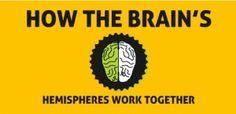How The Brain's Hemispheres Work Together via @Brain_Balance