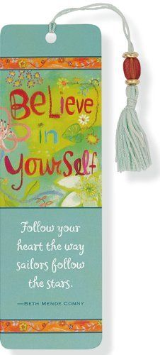 Believe In Yourself Beaded Bookmark by Peter Pauper Press, http://www.amazon.co.uk/dp/1593593074/ref=cm_sw_r_pi_dp_f7Cisb0VY3QWA