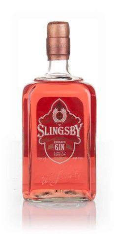 #Gin Slingsby Rhubarb Gin - Master of Malt | < 234° https://de.pinterest.com/ginaissance/sloe-liqueur-gin/ #gindrinks