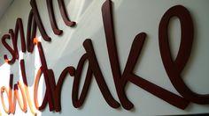 Wandtattoo, Buchstaben von PAULSBECK Buchstaben, Dekoration & Geschenke auf DaWanda.com