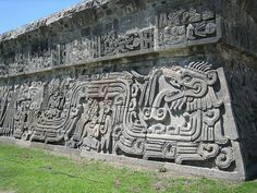 Temple of the Feathered Serpent, Xochicalco, Mexico