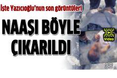 Muhsin Yazıcıoğlu'nun karlar altında bulunduğu anın görüntüleri