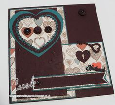 Day 45 - Valentine's Day Card -Debbie Shore Heart Quilting dies - Die'sire Essentials Scalloped Heart dies - Die'sire Essentials Only Words - Sara Davies Love and Romance Signature Collection: Decorative Heart, Key to My Heart - Paper from Tattered Lace Bowmaker magazine - Docrafts TriBoss Heart Attack - Docrafts Sentiments Embossing folder - #photoaday #crafterscompanion