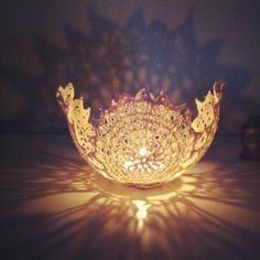 Handmade Tealight holder by Mell