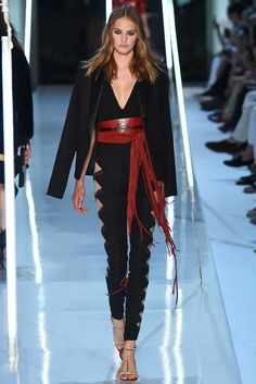 Alexandre Vauthier Fall 2015 Couture Fashion Show - Vanessa Moody