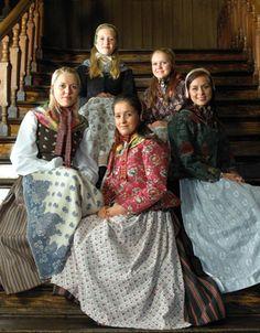 Kvinnebunad fra Ryfylke Norway