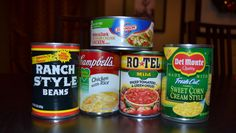 Only 5 canned items to make this easy soup. Just heat & serve. Great on a cold night!