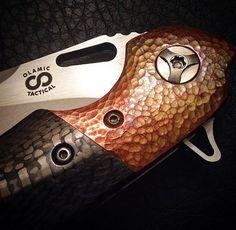 Olamic Cutlery Wayfarer Compact Flipper Knife /// Dj EDC