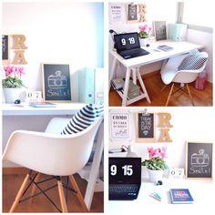 Creative Mindly Office Desk, Furniture, Home Decor, Work Spaces, Houses, Nordic Style, Desks, Desk Office, Decoration Home