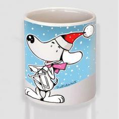 Χριστουγεννιάτικος Σκύλος Mugs, Tableware, T Shirt, Supreme T Shirt, Dinnerware, Tee Shirt, Tumblers, Tablewares, Mug