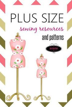 Plus size sewing resources and patterns on sewsomestuff.com. Having trouble finding the perfect guidance that you need for plus size sewing? Check out this post where I have listed down some of the online classes, books and sites to help you with plus size sewing. Also included are links to plus size sewing patterns. READ NOW!: