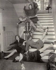 "Vintage WTFs..... ""Photographic proof that our ancestors were insane. See, we are not that crazy after all."""