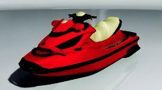 Venom Design Red Jet-Ski