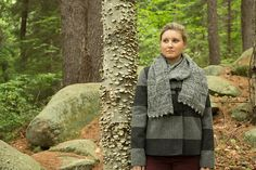 NobleKnits: Bobble Edge Scarf Free Knitting Pattern