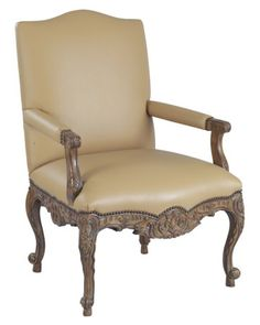 Louis J Solomon Louis XV Armchair Classic Furniture, Accent Chairs, Armchair, Traditional Styles, Solomon, Home Decor, Upholstered Chairs, Sofa Chair, Single Sofa