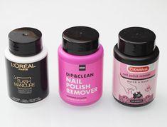 Hema Dip & Clean Nail Polish Remover € 4,50 ruikt goed en werkt goed / Kruidvat Quick & Easy Nail Polish Remover € 2,49 werkt goed, maar ruikt minder goed / best combineren met verzorging voor handen en nagelruimen want drogen beiden uit