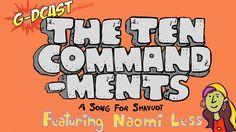 The Ten Commandments - A Song for Kids (+playlist) #Happy #Shavuot